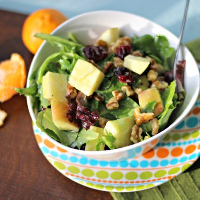 Apple Walnut Salad with Dijon Vinaigrette