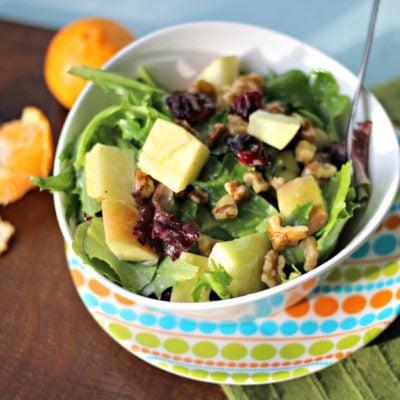 Apple Walnut Salad with Dijon Vinaigrette