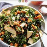 Apple Walnut Salad with Mustard Vinaigrette