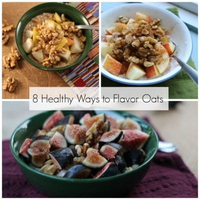 8 Healthy Ways to Flavor Your Oats