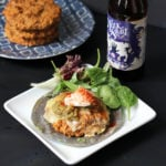 Green Chile Tempeh Burgers | Dietitian Debbie Dishes
