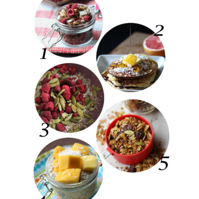 5 Healthy Breakfast Ideas