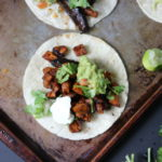 Marinated Mushroom Tacos | Dietitian Debbie Dishes
