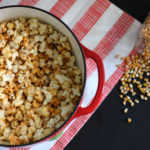 Smoky Chili Flavored Popcorn | Dietitian Debbie Dishes