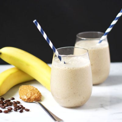 Nutty Banana Coffee Smoothie