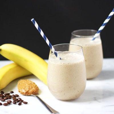 Nutty Banana Coffee Smoothie