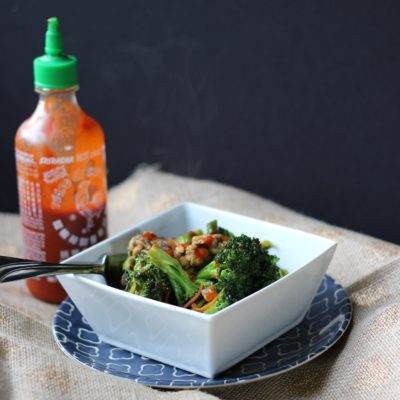 Tempeh and Broccoli Stir Fry