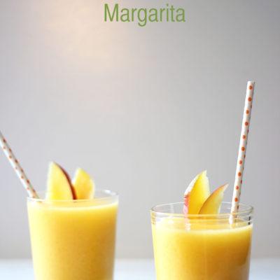 Frozen Ginger Mango Margarita