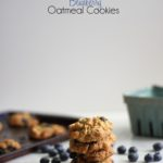 White Chocolate and Blueberry Oatmeal Cookies