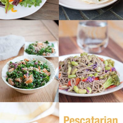 Pescatarian Meal Plan with Eating Bird Food