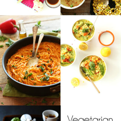 Vegetarian Meal Plan with Minimalist Baker