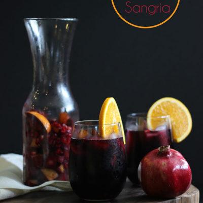 Pear Pomegranate Sangria