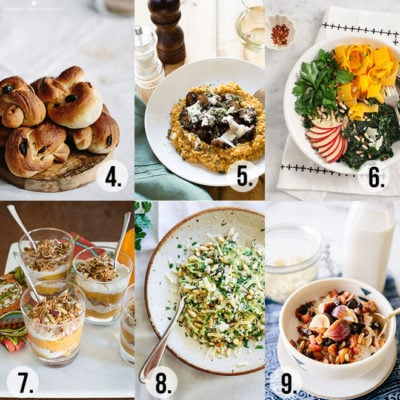 10 Recipes to Try This Fall