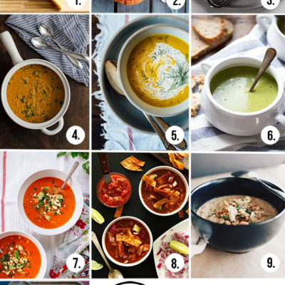 10 Healthy Vegetarian Soups for Fall