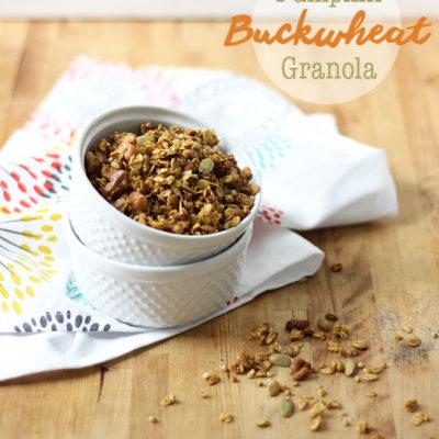 Pumpkin Buckwheat Granola