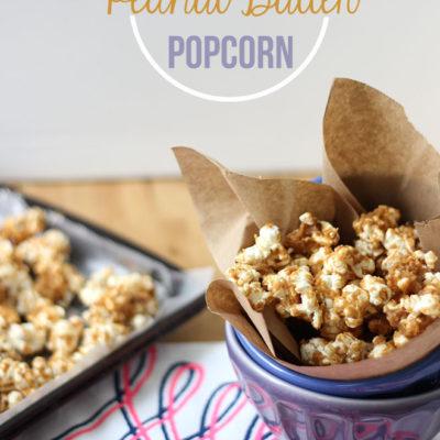 Salted Peanut Butter Popcorn
