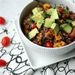 Southwest Quinoa Salad w/Roasted Butternut Squash   Dietitian Debbie Dishes
