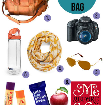 Healthy Travel: What's in My Bag?