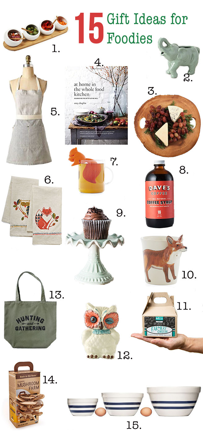 15 gift ideas for foodies dietitian debbie dishes. Black Bedroom Furniture Sets. Home Design Ideas