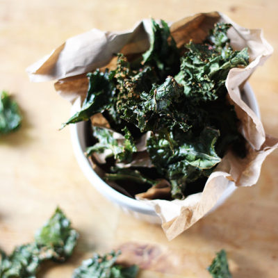 Herby Baked Kale Chips
