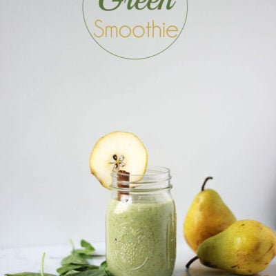 Pear Green Smoothie