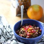 Gingerbread Oatmeal | Dietitian Debbie Dishes