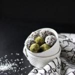 Matcha and Coconut Truffles | Dietitian Debbie