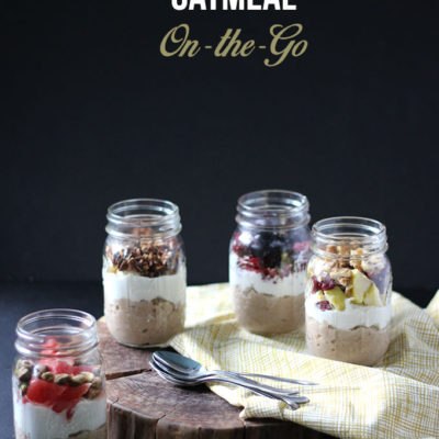 Oatmeal On-The-Go: 4 Ways