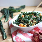 Buckwheat Kale Salad with Citrus Yogurt Dressing | Dietitian Debbie