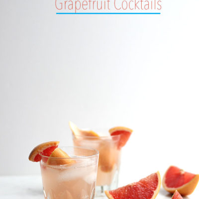 Ginger Grapefruit Cocktail