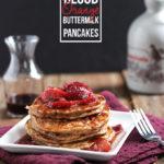 Blood Orange Buttermilk Pancakes   Dietitian Debbie Dishes