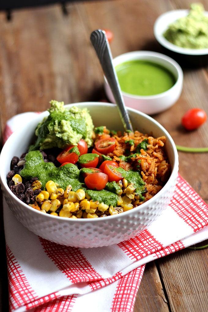 Vegan Burrito Bowl Dietitian Debbie Dishes