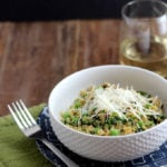 Spring Quinoa Risotto | Dietitian Debbie Dishes