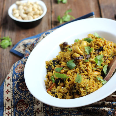 Indian Spiced Brown Rice
