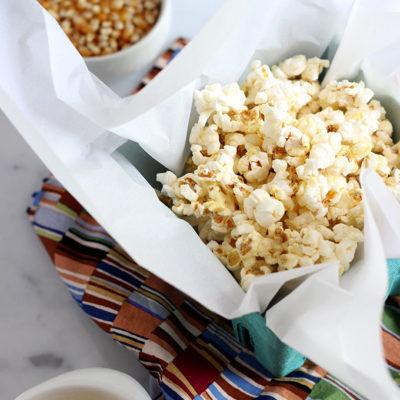 Smoky Cheddar Popcorn