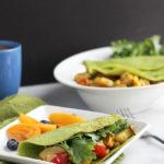 Summer Vegetable Crepes | Dietitian Debbie Dishes