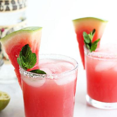 Cucumber Watermelon Margarita