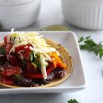 Vegetarian Grilled Fajitas   Dietitian Debbie Dishes