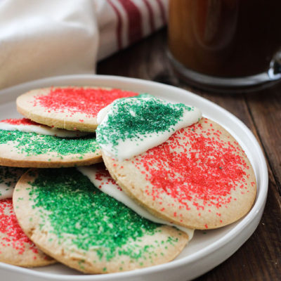 Gluten Free Christmas Sugar Cookies