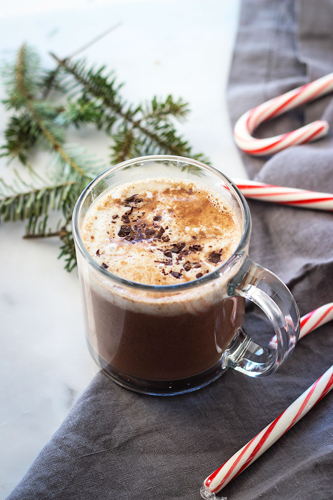 Spiked Vegan Hot Chocolate
