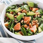 Cara Cara Arugula Salad   Vegan