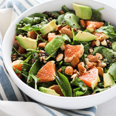 Cara Cara Orange and Arugula Salad