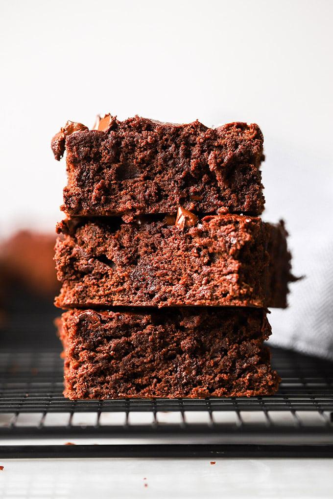 Easy Vegan Brownies Dietitian Debbie Dishes