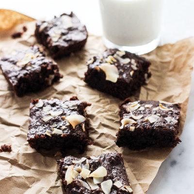 One Bowl Vegan Brownies