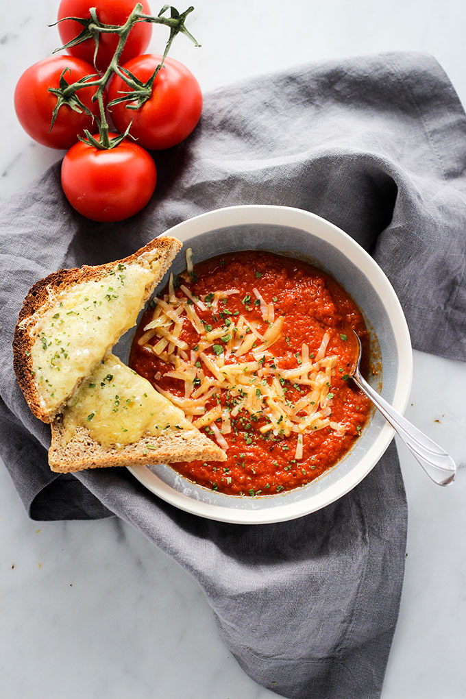 Roasted Red Pepper and Tomato Soup 2