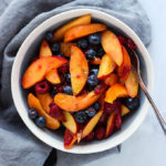 Apricot, Berry and Nectarine Fruit Salad