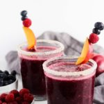 Frozen Berry and Nectarine Sangria