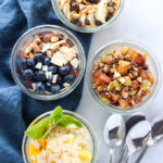 Overnight Oats 4 Different Ways | A healthy breakfast that is perfect for on-the-go