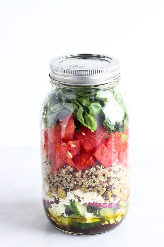 Salad in a Jar 3 Ways: A Prettier Way to Eat Your Vegetables