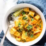 Easy Tofu Pumpkin Tofu | Vegan, Vegetarian, 30 Minutes or Less